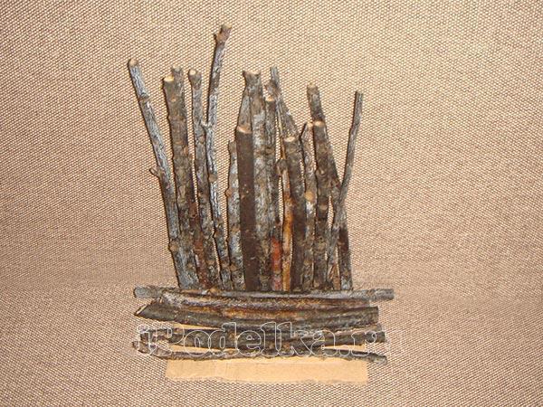 Из деревянных палочек 2