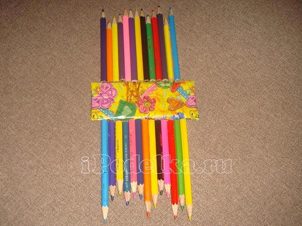 Из разноцветных карандашей 2