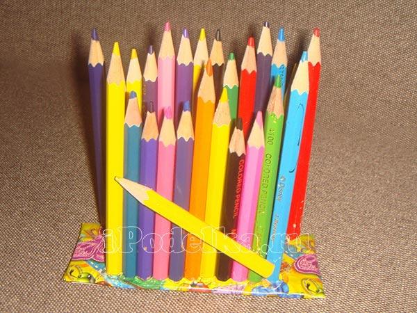Из разноцветных карандашей 5
