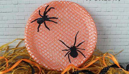 Украшение на Хэллоуин — панно на стену