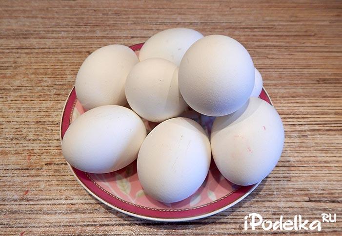 Покраска яиц
