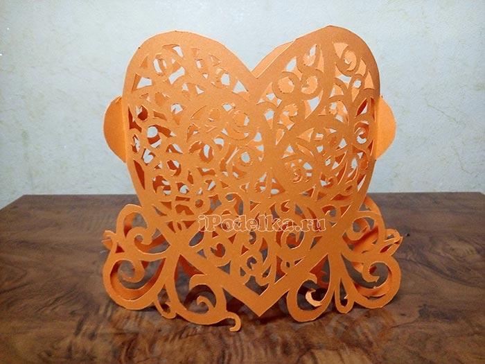 Объёмное 3D сердце своими руками