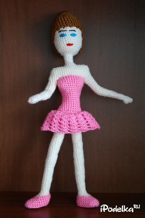 Как связать своими руками каркасную куклу