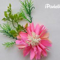 Цветок из бумаги — 6 мастер-классов