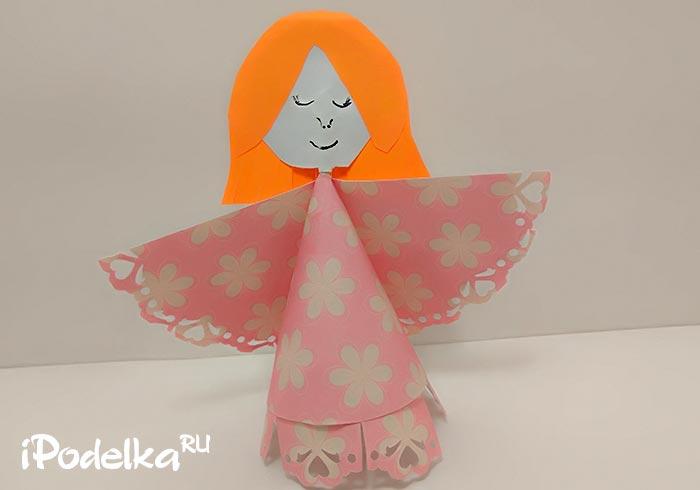 Как сделать бумажную куклу пошагово