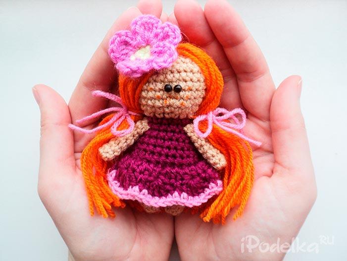 Амигуруми кукла
