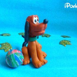 Пластилиновый пёс своими руками