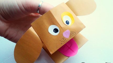 Как сделать собаку из бумаги своими руками