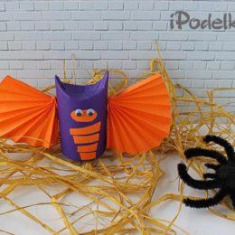 Как сделать летучую мышь на хэллоуин