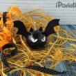 Как сделать летучую мышь из тыквы