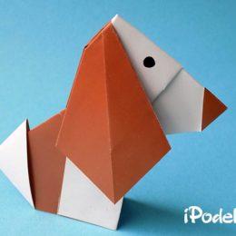 Как сделать собаку оригами — 10 вариантов